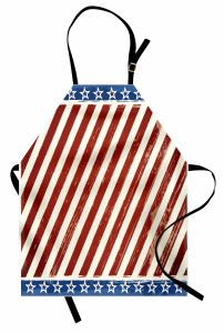 ABD Bayrağı Deseni Mutfak Önlüğü Nostaljik Şık