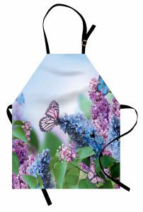 Leylaklar ve Kelebekler Mutfak Önlüğü Pembe Mavi