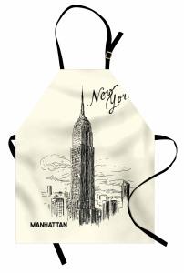 Empire States Binası Mutfak Önlüğü New York