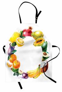 Meyvelerden Çember Mutfak Önlüğü Natürmort