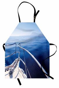 Adaya Karşı Demir Attık Mutfak Önlüğü Deniz ve Yat