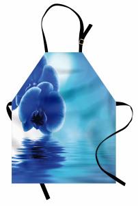 Orkidenin Suya Dokunuşu Mutfak Önlüğü Dekoratif