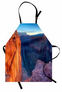 Büyük Kanyon'da Gün Doğumu Manzaralı Mutfak Önlüğü