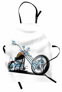 Motosiklet Tutkunlarına Özel Mutfak Önlüğü Spor