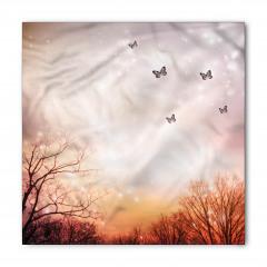 Gökyüzü ve Kelebek Bandana Fular