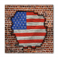 Tuğlalı ABD Bayrağı Bandana Fular