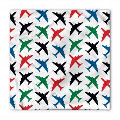 Rengarenk Uçaklar Bandana Fular