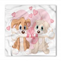Aşık Köpekler ve Kemik Bandana Fular