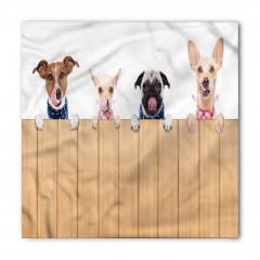 Çit Ardındaki Köpekler Bandana Fular