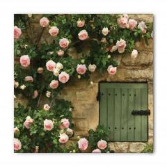 Pembe Romantik Güller Bandana Fular