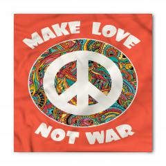 Barış Temalı Bandana Fular