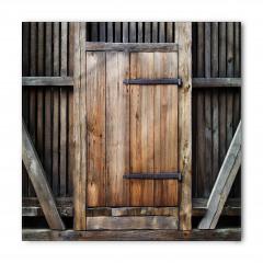 Antika Ahşap Kapı Bandana Fular