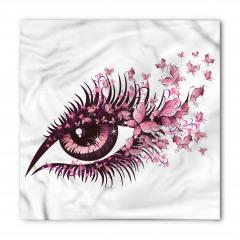 Kirpik Kelebek ve Göz Bandana Fular