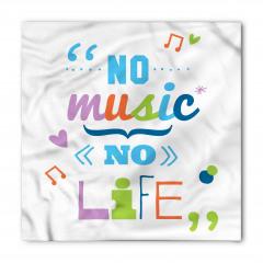 Hayat Müziksiz Olmaz Bandana Fular