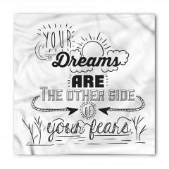 Hayaller ve Korkular Bandana Fular