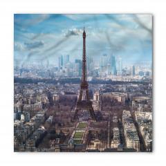 Paris ve Gökyüzü Temalı Bandana Fular