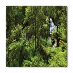 Ormandaki Şelale Temalı Bandana Fular