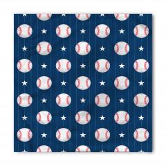 Yıldızlı Beyzbol Topu Bandana Fular