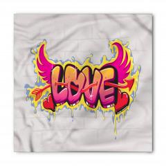 Retro Kanatlı Aşk Bandana Fular