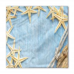 Deniz Yıldızları Temalı Bandana Fular