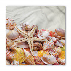 Deniz Yıldızı ve Kabuğu Bandana Fular