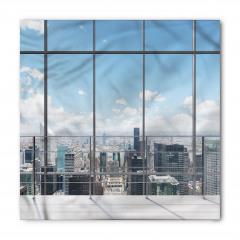 Pencere ve Gökdelen Bandana Fular
