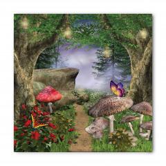 Büyülü Orman Temalı Bandana Fular