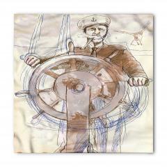 Denizci Temalı Bandana Fular