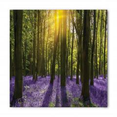 Güneş Orman ve Çiçek Bandana Fular