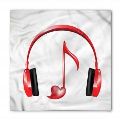Kulaklık ve Müzik Bandana Fular