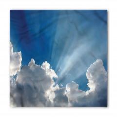 Gökyüzü Temalı Bandana Fular