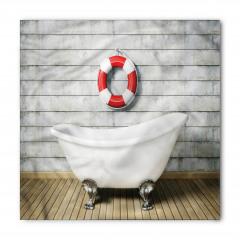 Banyo Temalı Bandana Fular