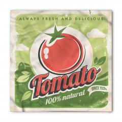 Nostaljik Etiket Temalı Bandana Fular