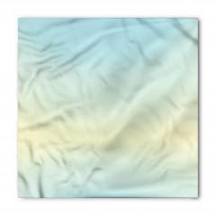 Mavi ve Sarı Desenli Bandana Fular