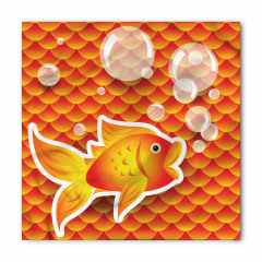 Sevimli Süs Balığı Bandana Fular