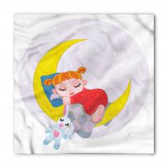 Ay ve Uyuyan Güzel Bandana Fular