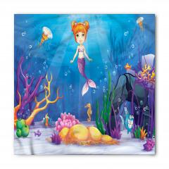 Sevimli Deniz Kızı Bandana Fular