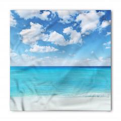 Tropikal Deniz Kenarı Bandana Fular