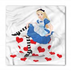 Alice Temalı Bandana Fular