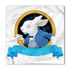 Tavşan Desenli Bandana Fular