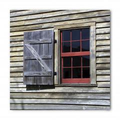 Antik Ahşap Pencereli Bandana Fular