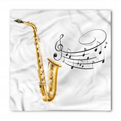 Müzik Temalı Bandana Fular