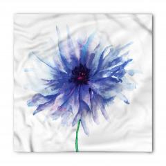 Şık Çeyizlik Çiçek Bandana Fular