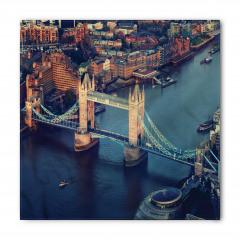 Nehir ve Antik Köprü Bandana Fular