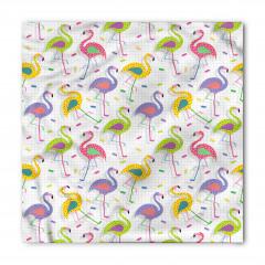 Rengarenk Flamingolar Bandana Fular