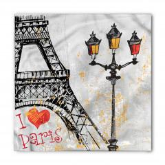 Paris Işıkları Bandana Fular