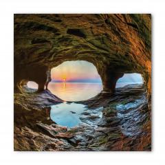 Mağara ve Gün Doğumu Bandana Fular
