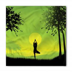 Gün Doğumunda Yoga Bandana Fular
