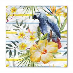 Papağan ve Çiçek Bandana Fular