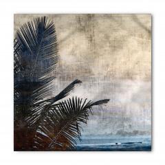 Tropik Ada Manzarası Bandana Fular